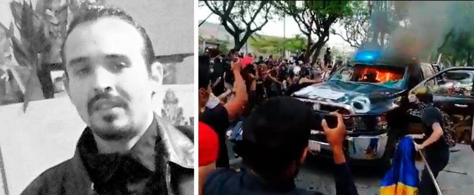 Giovanni López y protestas en Guadalajara, México