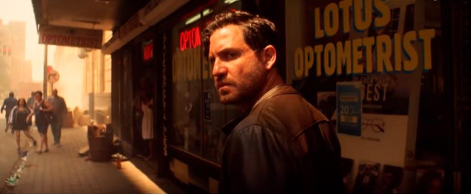 Fotograma del tráiler de la película 'Los últimos días del crimen'.
