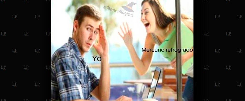 Los mejores memes de Mercurio retrógrado