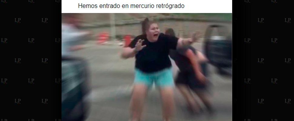 Más memes de Mercurio retrógrado