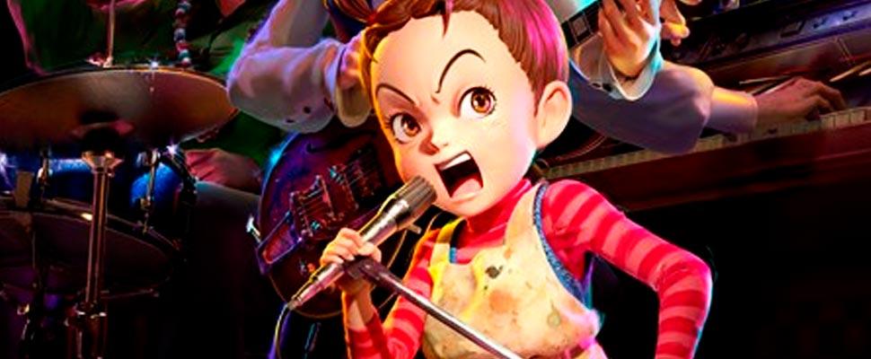 Aya y la Bruja, el primer largometraje en animación 3D de estudio Ghibli
