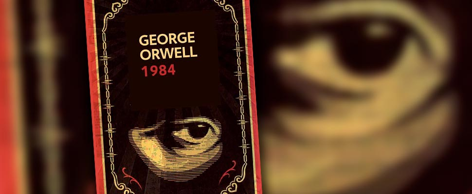 Cover of the book '1984' by George Orwell