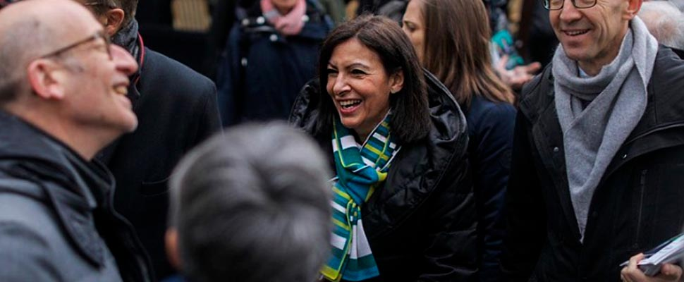 Anne Hidalgo, la primera inmigrante en convertirse en alcaldesa de París