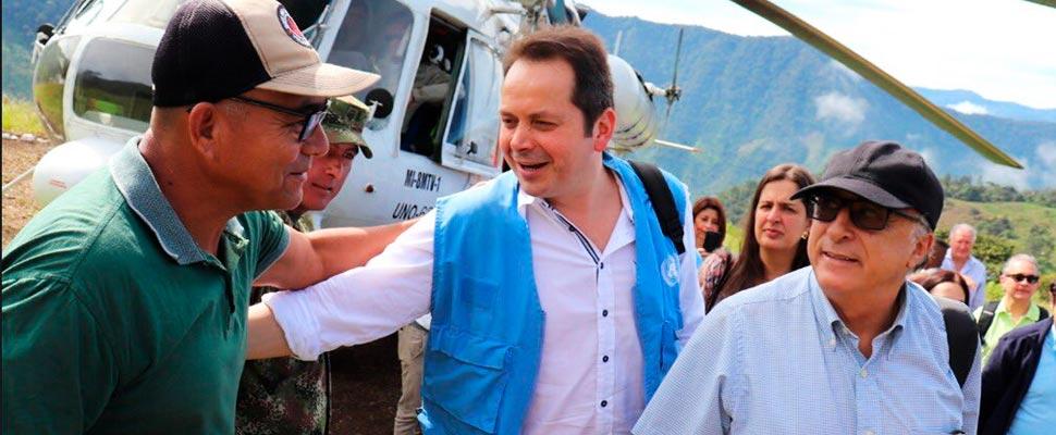 ONU: la paz en Colombia no puede ser víctima del COVID
