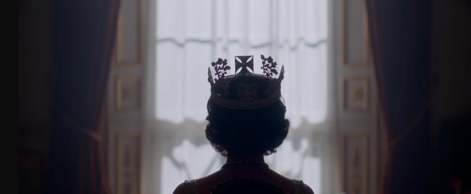 Fotograma del tríaler de 'The Crown'