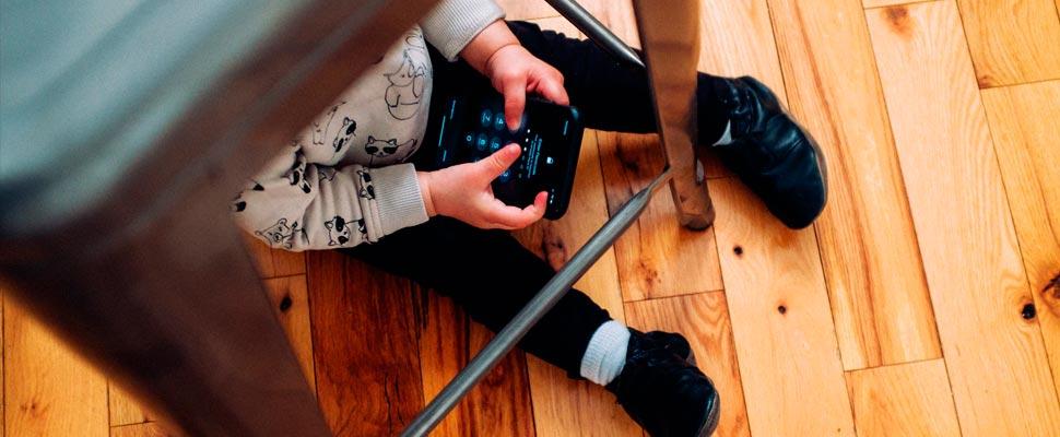Niños y jóvenes adictos a la tecnología