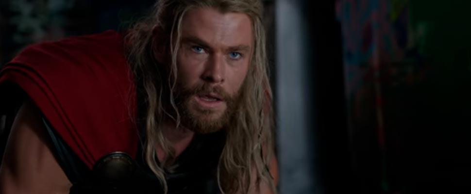 Still from the trailer for the movie 'Thor: Ragnarok'