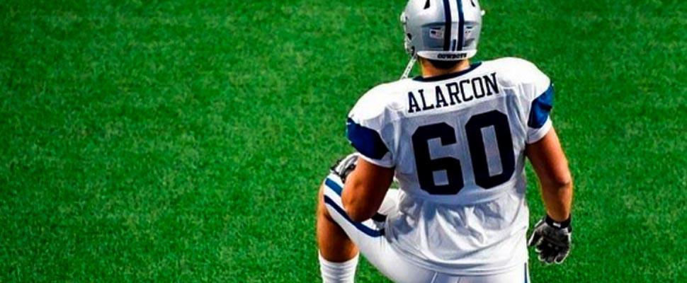 Isaac Alarcón extiende la relevante historia mexicana en la NFL