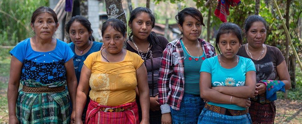 Lideresas sociales en Guatemala