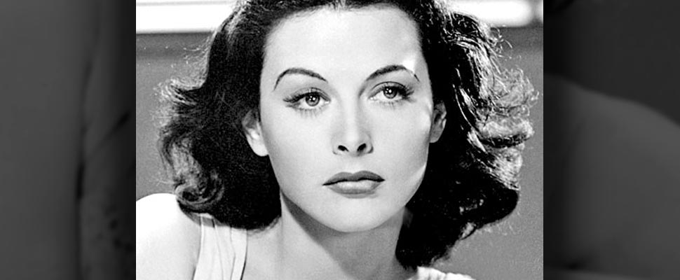 Publicity photo of Hedy Lamarr for film Comrade X.
