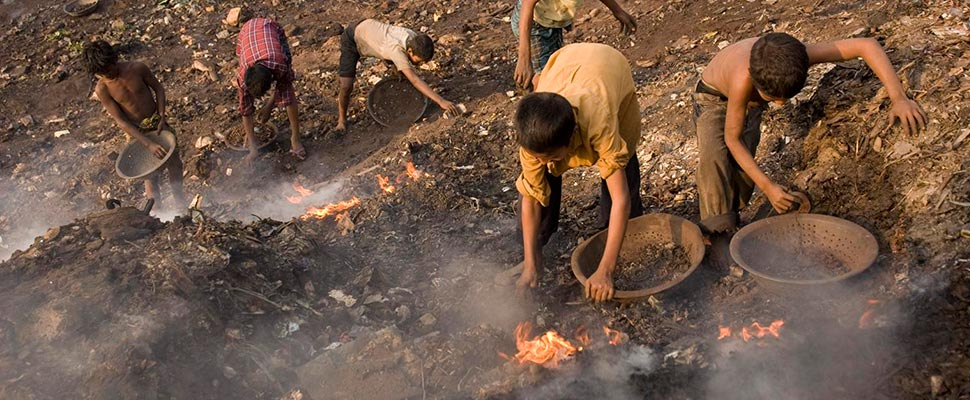 One in three children in the world is contaminated with lead