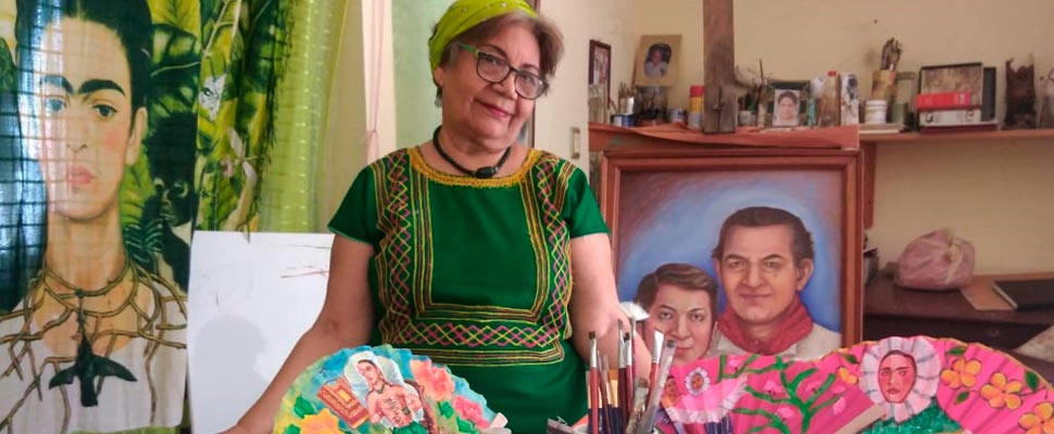 The Artist Blessed by Diego Rivera's Spirit that Shows through her Paintings Tehuantepec History