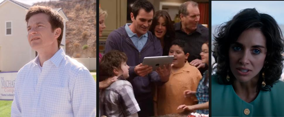 Still from the series' Arrested Developmetn ', Modern Family' and 'Glow'