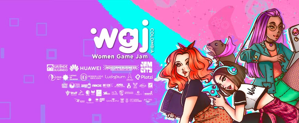 Poster of the event 'Woman Game Jam'