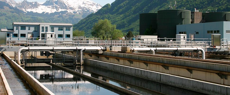 Residual water treatment plant