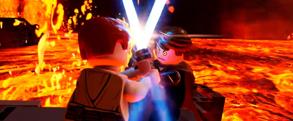 Still from the trailer for the video game 'LEGO® Star Wars ™: The Skywalker Saga'