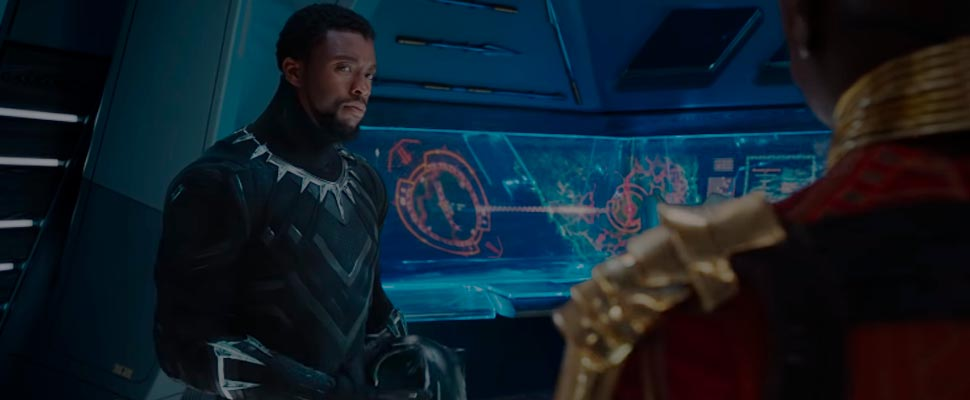 Still from the trailer for the movie 'Black Panther'