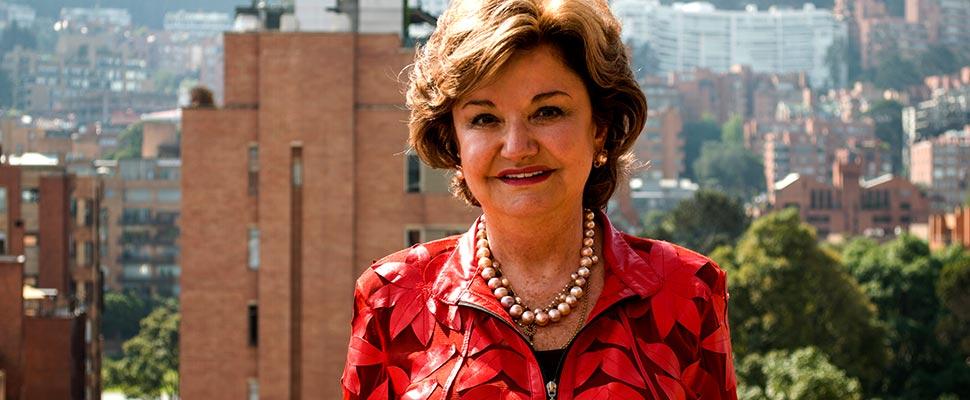 Luz Marina Jaramillo, President of Pavimentos Colombia