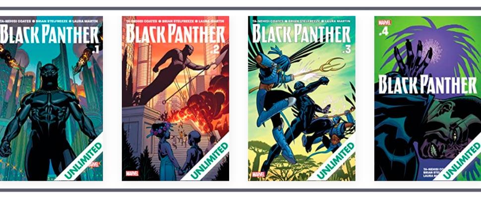 Cómics gratis de Black Panther: cómo empezar a leerlos