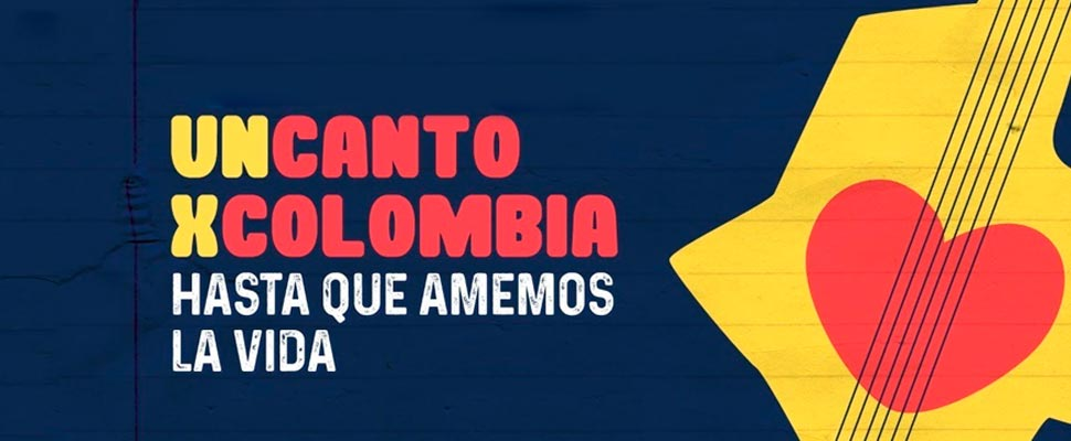 Poster of 'Un Canto x Colombia'