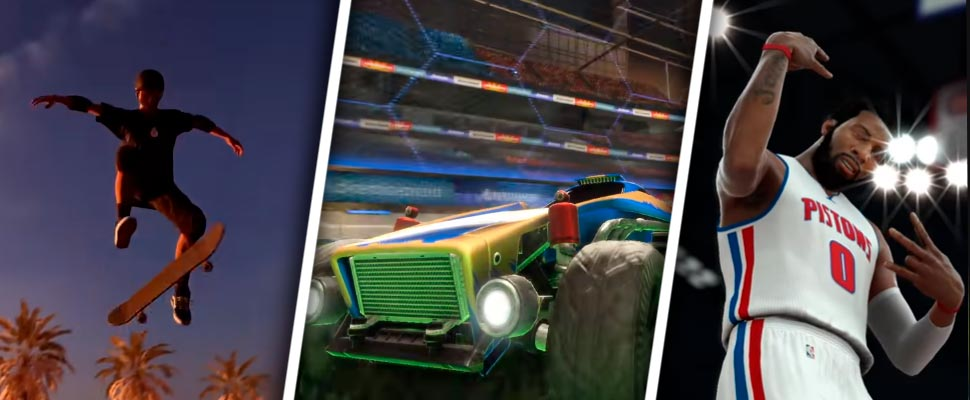 'Tony Hawk's Pro Skater 1-2', 'Rocket League', 'NBA 2K17'