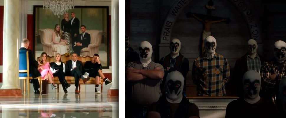 Still from the series 'Schitt's Creek', 'Watchmen'