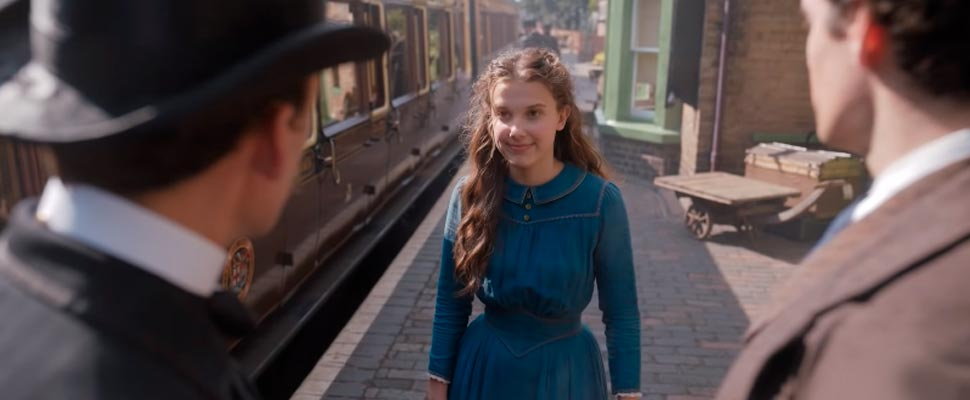 Still from the trailer for the movie 'Enola Holmes'.