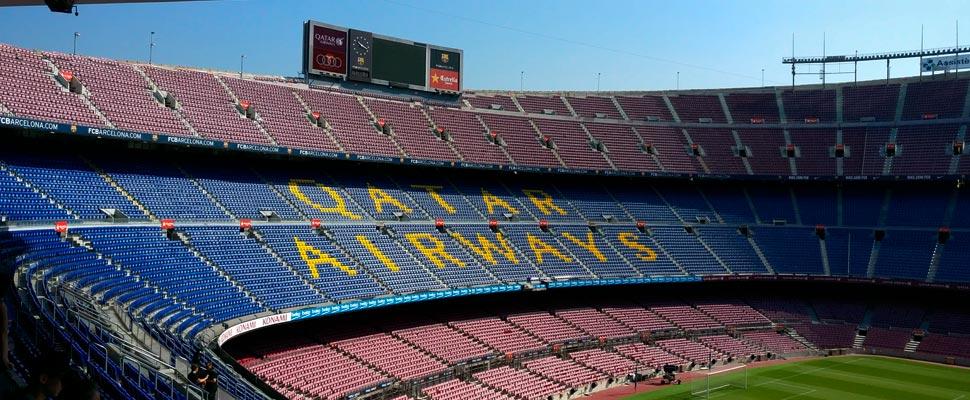 Foto aérea del Camp Nou