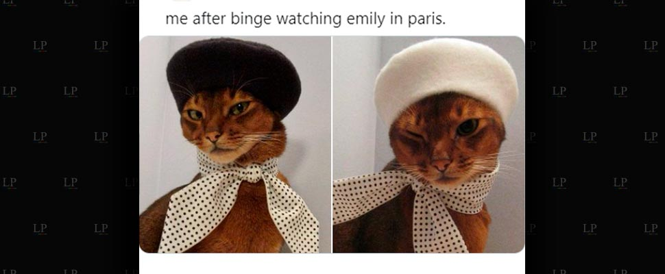 Start the week with the best memes on Emily in Paris