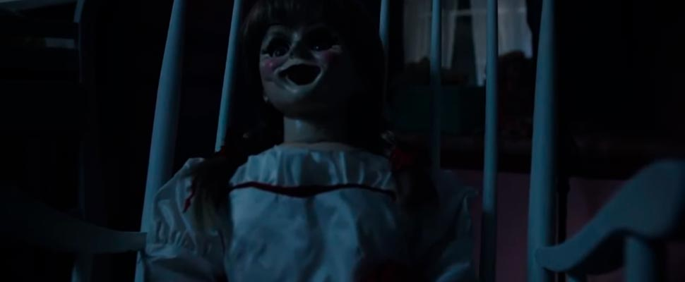 Frame from the movie 'Annabelle'