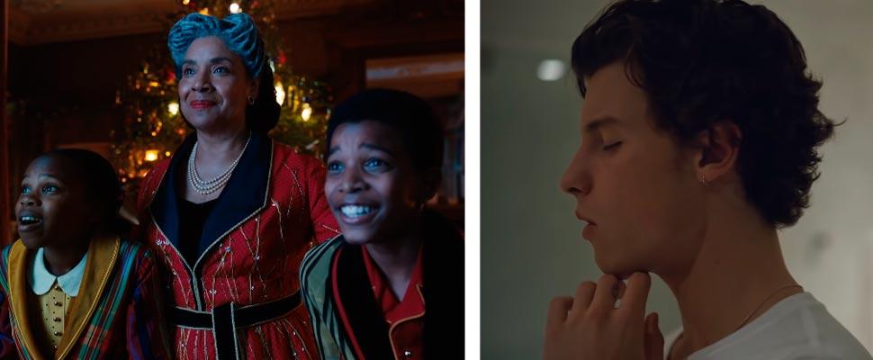 Fotograma 'Jingle Jangle' y 'Shawn Mendes: In Wonder'