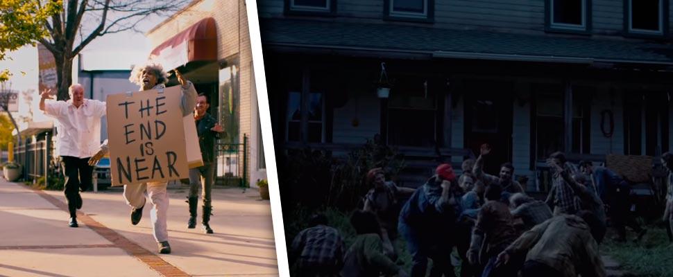 Fotograma de las películas 'Zombieland', 'La muerte no muere'