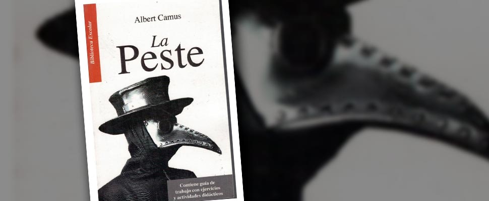 Cover of the book 'La Peste' by Albert Camus