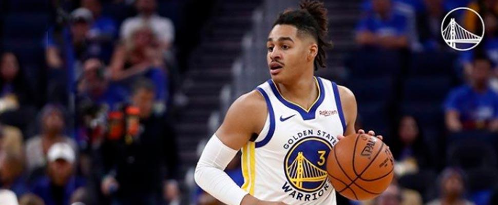 Warriors player during an NBA game