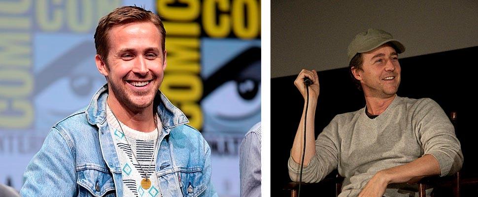 Ryan Gosling and Edward Norton