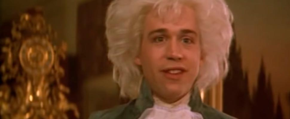 Frame from the film 'Amadeus'