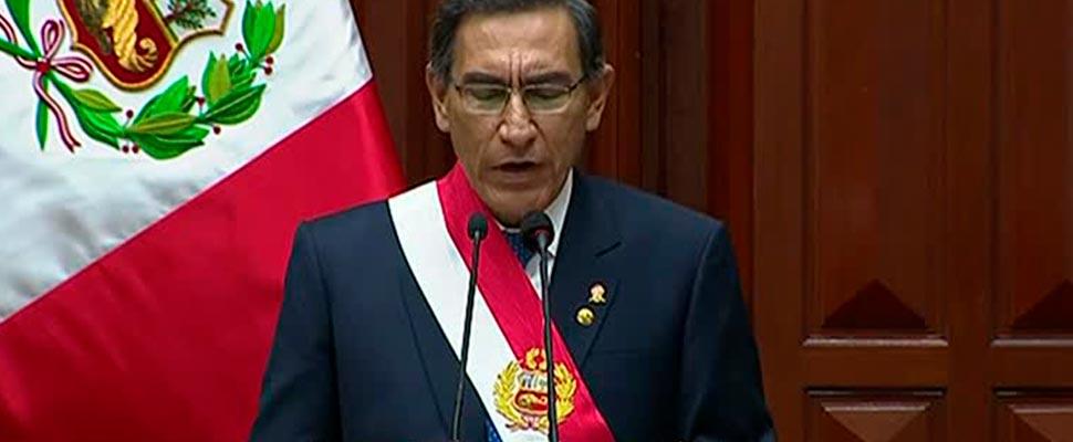 Línea de tiempo de la destitución del presidente de Perú