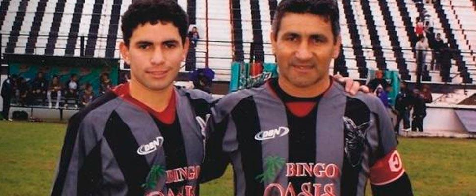 Alberto y Mickael Acosta