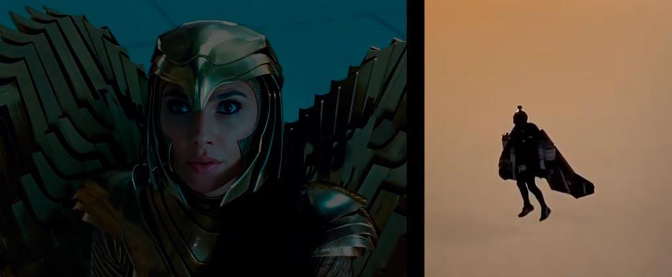 Fotograma del tráiler de la película 'Wonder Woman 1984',