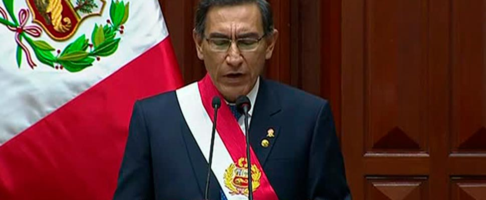 Timeline of the impeachment of the president of Peru