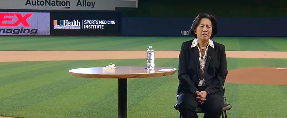 Los Miami Marlins y la MLB se rinden a los pies de Kim Ng