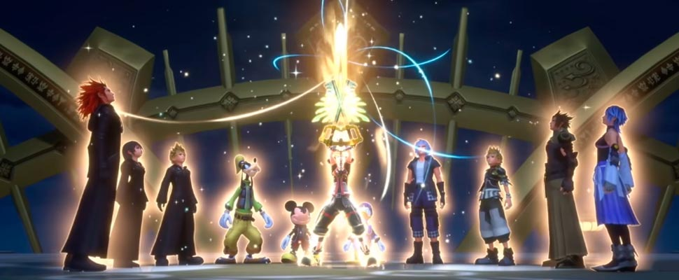 Still from the trailer for the video game 'Kingdom hearts'