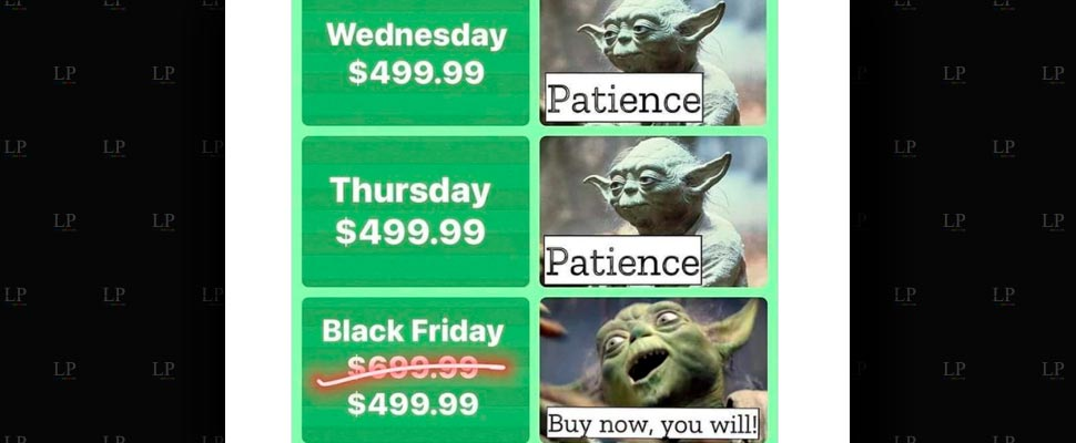 With the sales come the Black Friday memes