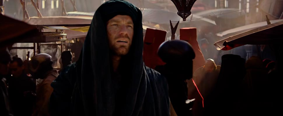 Still from the teaser for 'Obi-Wan Kenobi'
