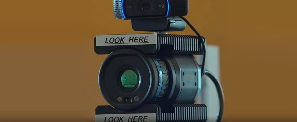 ¿Crees que tienes COVID? Esta cámara podría decirte