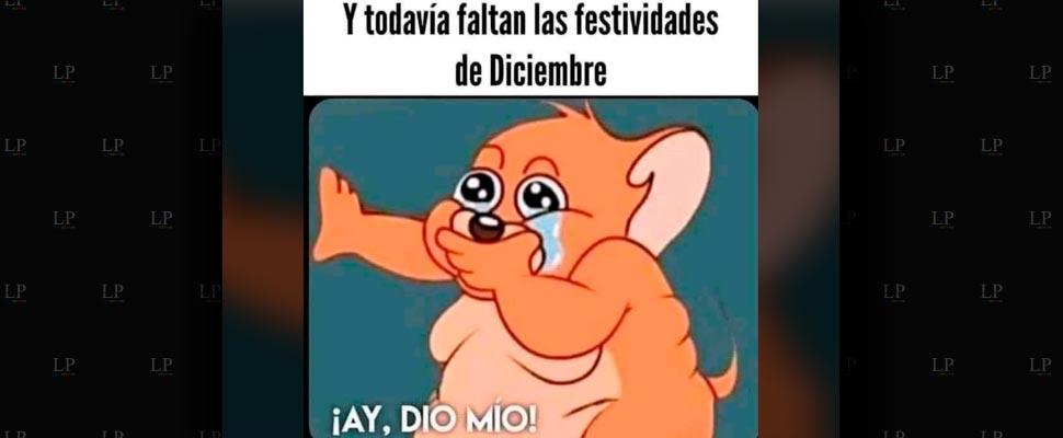 Llegó Diciembre 2020 con sus memes