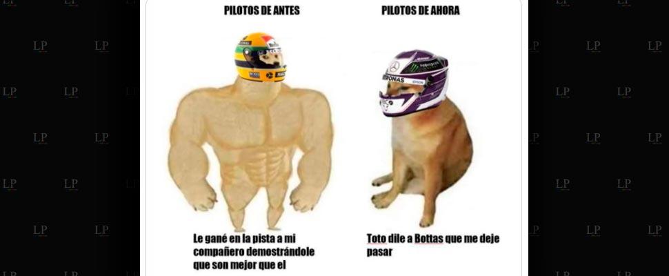 Los memes de la fórmula 1 llegan a toda velocidad