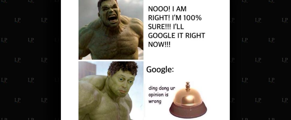 Let's laugh with these Google memes