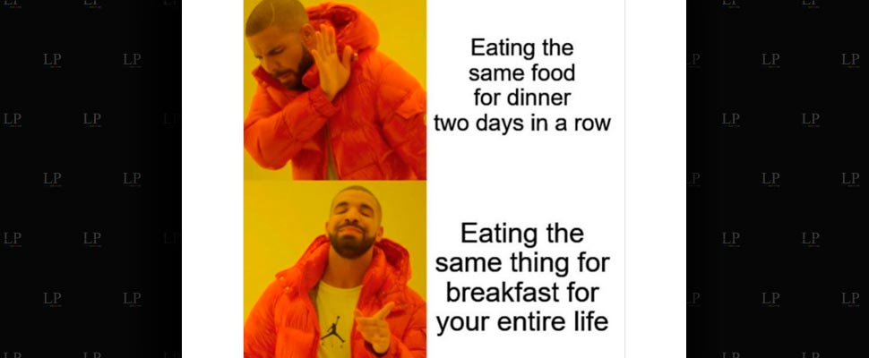 Some of the Breakfast memes