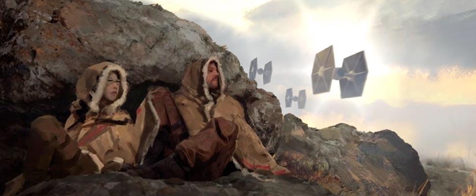 Star Wars: Andor trailer frame